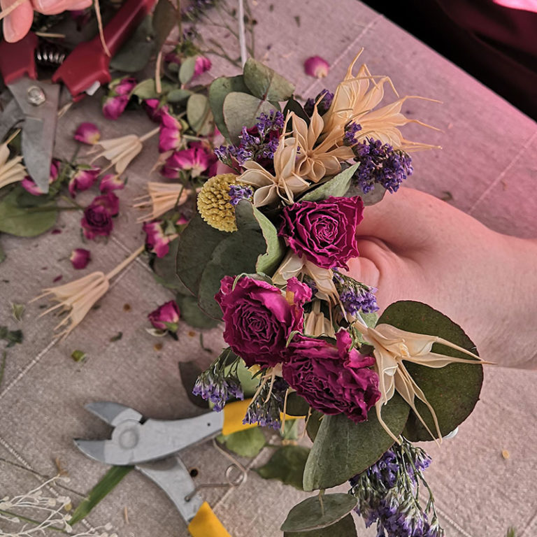 photo atelier floral lyon