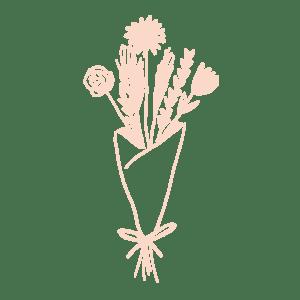 illustration bouquet de fleurs