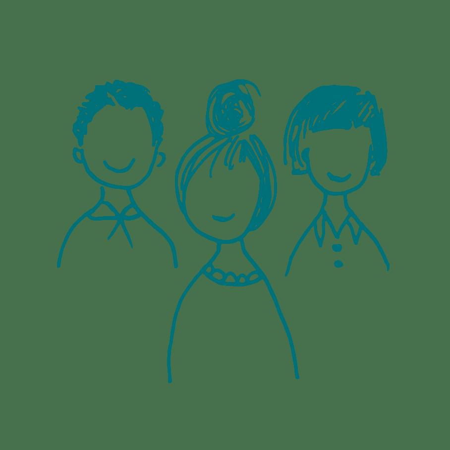 illustration groupe de personnes